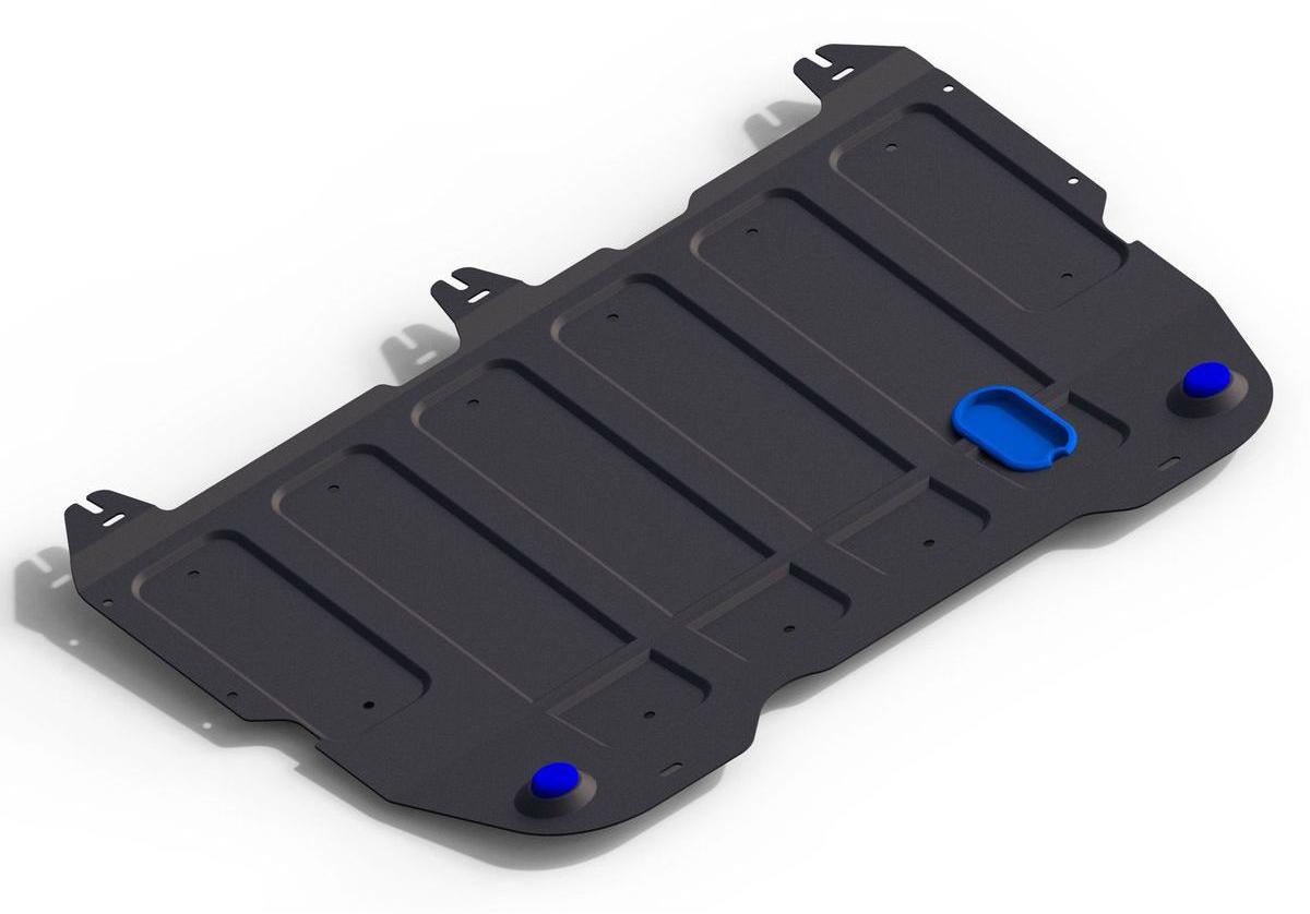 Защита картера и КПП Rival для Chery Arrizo 7 2014-н.в., сталь 2 мм111.0914.1Защита картера и КПП Rival для Chery Arrizo 7 V - 1.6 2014-н.в., Сталь 2 мм, комплект крепежа, 111.0914.1Стальные защиты картера Rival надежно защищают днище вашего автомобиля от повреждений при наезде на бордюры, выступающие канализационные люки, кромки поврежденного асфальта или при ремонте дорог, не говоря уже о загородных дорогах.Основными преимуществами продукта являются:- Имеет оптимальное соотношение цена-качество.- Спроектированы с учетом особенностей автомобиля, что делает установку удобной.- Является надежной защитой для важных элементов на протяжении долгих лет.- Глубокий штамп дополнительно усиливает конструкцию защиты.- Подштамповка в местах крепления защищает крепеж от срезания.- Технологические отверстия там, где они необходимы для смены масла и слива воды, оборудованные заглушками, надежно закрепленными на защите.В комплекте инструкция по установке.Уважаемые клиенты!Обращаем ваше внимание, на тот факт, что защита имеет форму, соответствующую модели данного автомобиля. Наличие глубокого штампа и лючков для смены фильтров/масла предусмотрено не на всех защитах. Фото служит для визуального восприятия товара.