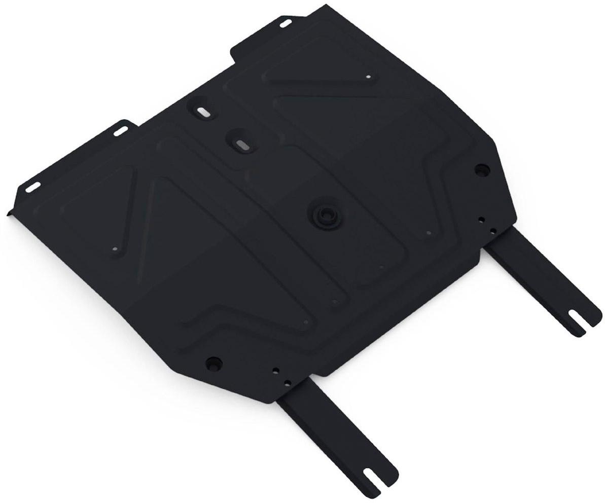 Защита картера и КПП Rival для Chery Tiggo 3 2017-н.в./Chery Tiggo FL 2013-н.в., сталь 2 мм111.0916.1Защита картера и КПП Rival для Chery Tiggo 3 V - 1.6 МКПП 2017-н.в./Chery Tiggo FL V - 1.6 2013-н.в., Сталь 2 мм, комплект крепежа, 111.0916.1Стальные защиты картера Rival надежно защищают днище вашего автомобиля от повреждений при наезде на бордюры, выступающие канализационные люки, кромки поврежденного асфальта или при ремонте дорог, не говоря уже о загородных дорогах.Основными преимуществами продукта являются:- Имеет оптимальное соотношение цена-качество.- Спроектированы с учетом особенностей автомобиля, что делает установку удобной.- Является надежной защитой для важных элементов на протяжении долгих лет.- Глубокий штамп дополнительно усиливает конструкцию защиты.- Подштамповка в местах крепления защищает крепеж от срезания.- Технологические отверстия там, где они необходимы для смены масла и слива воды, оборудованные заглушками, надежно закрепленными на защите.В комплекте инструкция по установке.Уважаемые клиенты!Обращаем ваше внимание, на тот факт, что защита имеет форму, соответствующую модели данного автомобиля. Наличие глубокого штампа и лючков для смены фильтров/масла предусмотрено не на всех защитах. Фото служит для визуального восприятия товара.