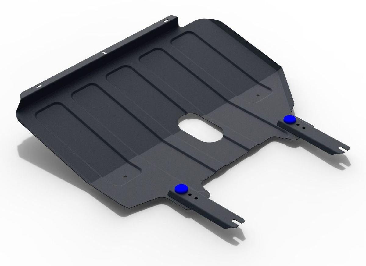 Защита картера и КПП Rival для Chery Tiggo 2 2017-н.в., сталь 2 мм111.0918.1Защита картера и КПП Rival для Chery Tiggo 2 V - 1.5 2017-н.в., Сталь 2 мм, комплект крепежа, 111.0918.1Стальные защиты картера Rival надежно защищают днище вашего автомобиля от повреждений при наезде на бордюры, выступающие канализационные люки, кромки поврежденного асфальта или при ремонте дорог, не говоря уже о загородных дорогах.Основными преимуществами продукта являются:- Имеет оптимальное соотношение цена-качество.- Спроектированы с учетом особенностей автомобиля, что делает установку удобной.- Является надежной защитой для важных элементов на протяжении долгих лет.- Глубокий штамп дополнительно усиливает конструкцию защиты.- Подштамповка в местах крепления защищает крепеж от срезания.- Технологические отверстия там, где они необходимы для смены масла и слива воды, оборудованные заглушками, надежно закрепленными на защите.В комплекте инструкция по установке.Уважаемые клиенты!Обращаем ваше внимание, на тот факт, что защита имеет форму, соответствующую модели данного автомобиля. Наличие глубокого штампа и лючков для смены фильтров/масла предусмотрено не на всех защитах. Фото служит для визуального восприятия товара.