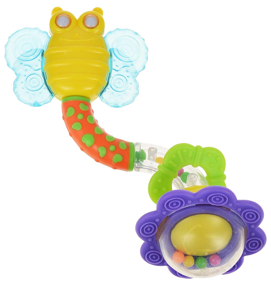 Мир детства Игрушка-погремушка Бабочка