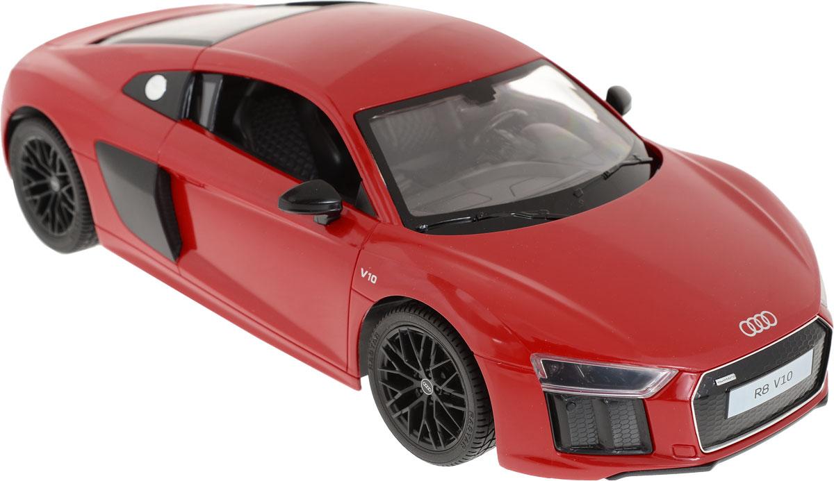 Rastar Радиоуправляемая модель AUDI R8 2015 Version масштаб 1:14 цвет красный rastar радиоуправляемая модель audi r8 lms цвет серебристый черный