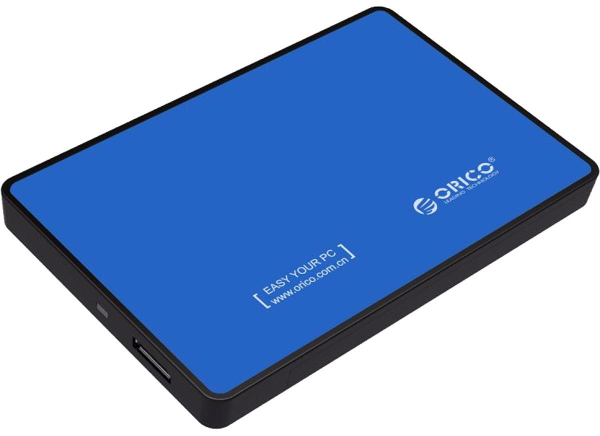 Orico 2588US3, Blue контейнер для HDD - Носители информации