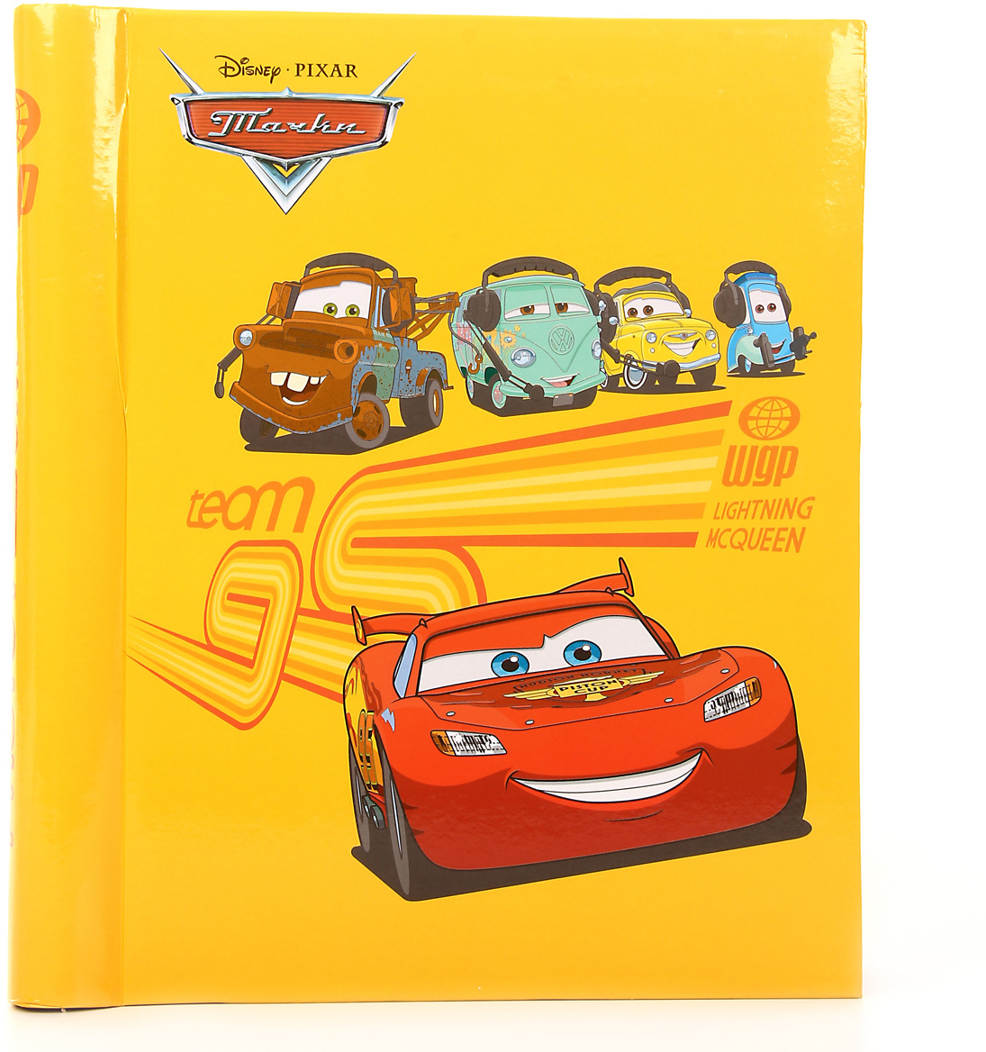 Фотоальбом Pioneer Cars 2, цвет: желтый, 100 фото, 10 х 15 см47347 LM-SA20Альбом для фотографий.Кол-во листов: 20.Материалы, использованные в изготовлении альбома, обеспечивают высокое качество хранения Ваших фотографий, поэтому фотографии не желтеют со временем.Конечно, никаких магнитов в этих альбомах нет. Есть страницы из плотной бумаги или тонкого картона, на этих страницах нанесено клейковатое покрытие и сверху страница закрыта прозрачной плёнкой, которая зафиксирована на внешнем ребре страницы.Фотографии на такой странице держатся за счёт того, что плёнка прилипает (как бы примагничивается) к странице. При этом фотографии не повреждаются, т.к. тыльная сторона не приклеивается к странице.Для того, чтобы разместить фотографии на магнитной странице, надо отлепить плёнку по направлению от корешка альбома к внешней (зафиксированной) стороне страницы, разложить фотографии поверх клейковатого покрытия так, как вам нравится.При этом обязательно надо оставлять по периметру страницы свободное поле, к которому и будет «примагничиваться» прозрачная плёнка.После размещения фоток надо их закрыть плёнкой так, чтобы не было пузырьков воздуха, складок и заломов. Для этого одной рукой надо как бы натягивать плёнку от края страницы к корешку, а другой – прижимать к странице.Если вы видите, что пошла складочка, не расстраивайтесь. Сразу отлепите плёнку и исправьте ситуацию. Не обязательно отклеивать плёнку полностью, если складочка пошла, например, от середины страницы или ближе к корешку.К неоспоримым преимуществам «магнитных» фотоальбомов относятся:- возможность размещать в них фотографии разного размера в нужной вам последовательности;- возможность размещать фотографии с наклоном;