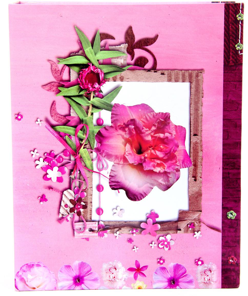 Фотоальбом Pioneer Red & White2, цвет: розовый, 300 фото, 10 х 15 см фотоальбом platinum классика 240 фотографий 10 x 15 см