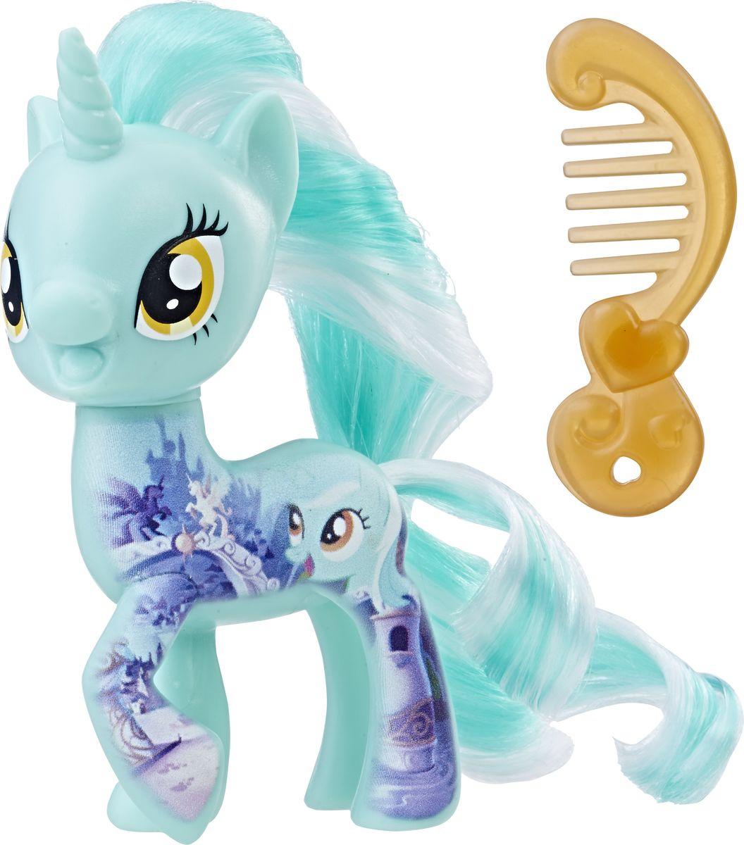 My Little Pony Фигурка All About Lyra Heartstrings мульти пульти мягкая игрушка принцесса луна 18 см со звуком my little pony мульти пульти