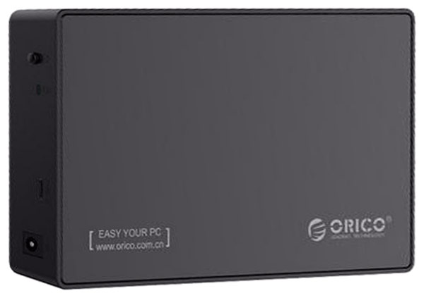 Orico 3588C3, Black контейнер для HDD orico 2789c3 type c 2 5 hard drive enclosure usb 3 1 gen1 to sata 3 0