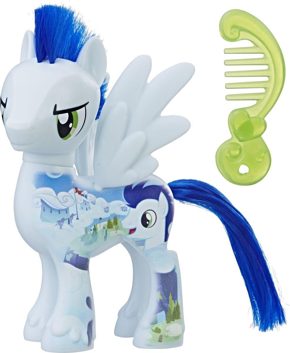 My Little Pony Фигурка All About Soarin мульти пульти мягкая игрушка принцесса луна 18 см со звуком my little pony мульти пульти