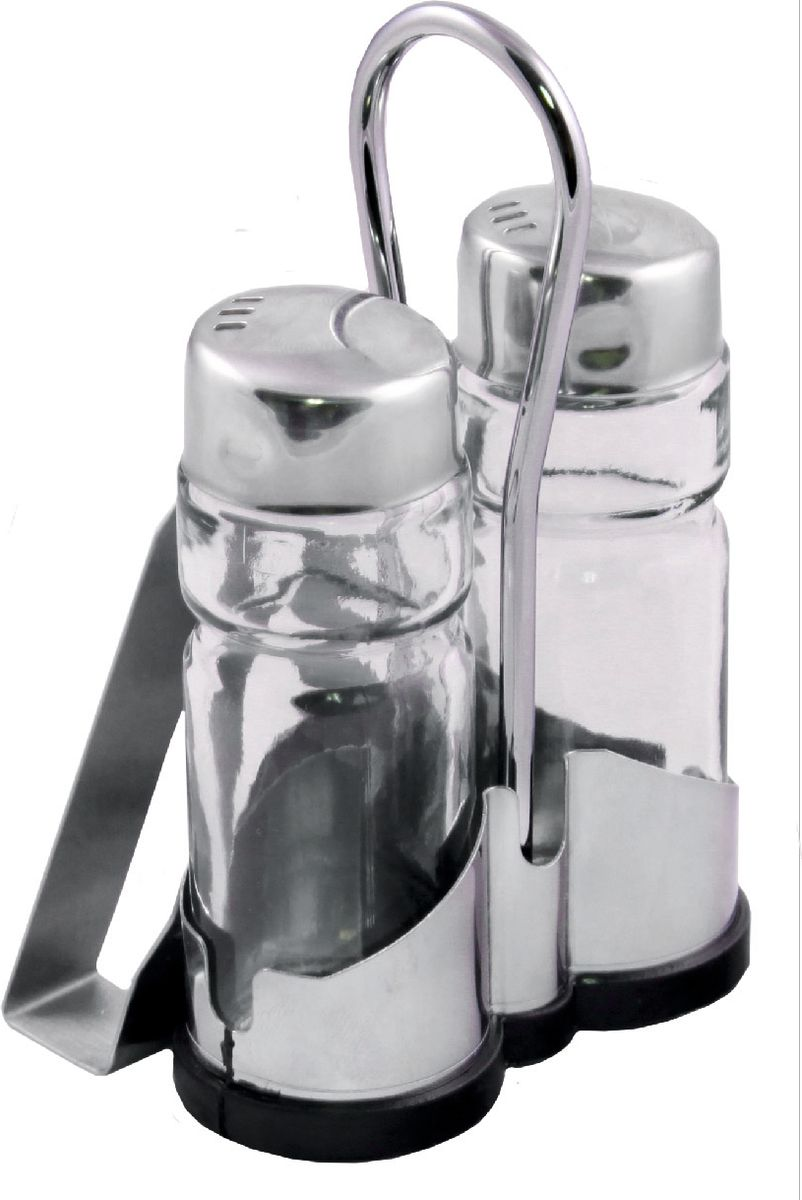 Набор для специй Appetite, 3 предметаFJ-2NНабор изготовлен из нержавеющей стали. Набобр состоит из 3 предметов: солонка: 40 мл, перечница: 40 мл, салфетница.