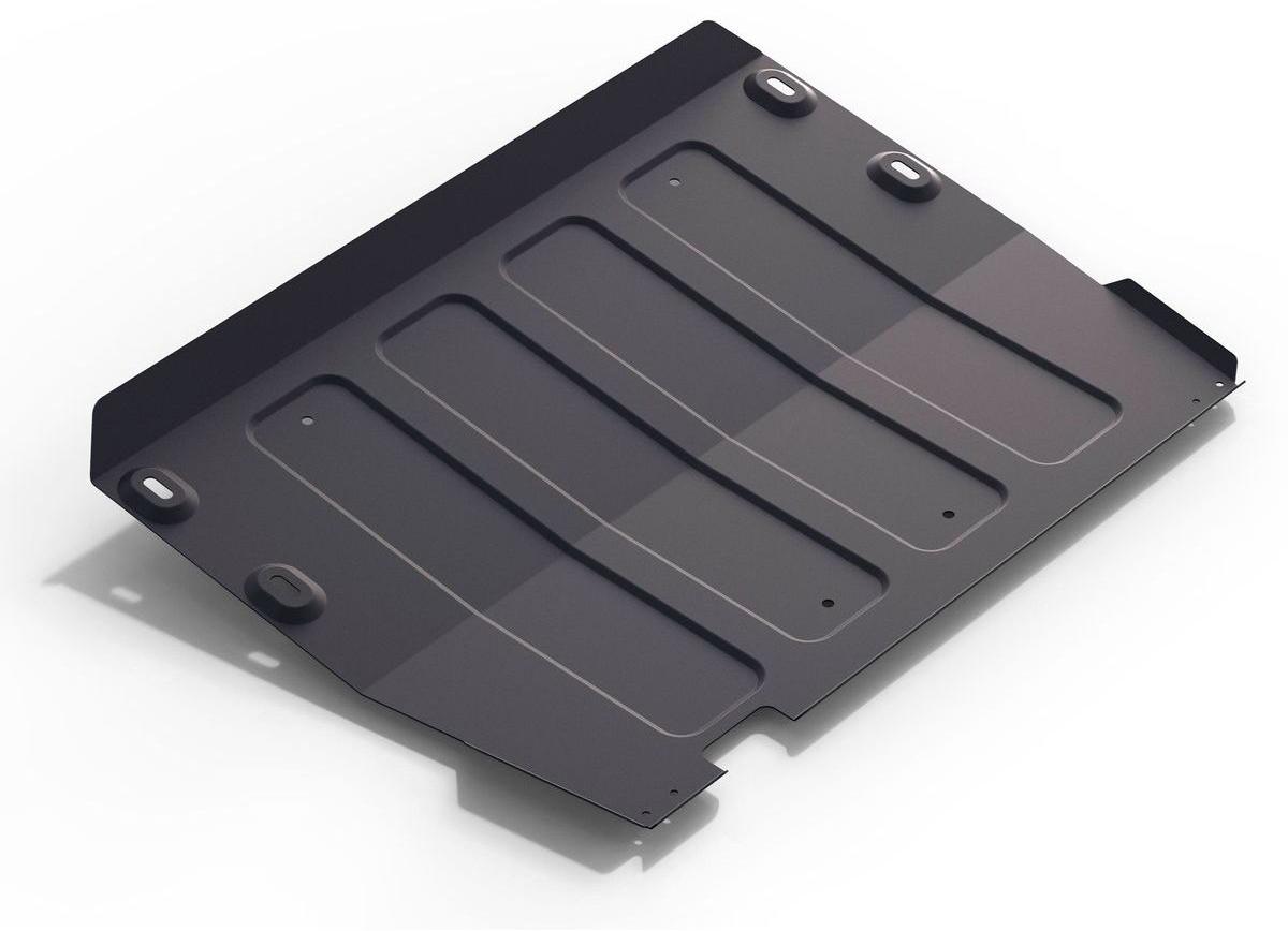 Защита картера и КПП Rival для Ford Transit 2014-н.в., сталь 2 мм111.1851.1Защита картера и КПП Rival для Ford Transit V - 2.2d 4WD, RWD 2014-н.в., Сталь 2 мм, комплект крепежа, 111.1851.1Стальные защиты картера Rival надежно защищают днище вашего автомобиля от повреждений при наезде на бордюры, выступающие канализационные люки, кромки поврежденного асфальта или при ремонте дорог, не говоря уже о загородных дорогах.Основными преимуществами продукта являются:- Имеет оптимальное соотношение цена-качество.- Спроектированы с учетом особенностей автомобиля, что делает установку удобной.- Является надежной защитой для важных элементов на протяжении долгих лет.- Глубокий штамп дополнительно усиливает конструкцию защиты.- Подштамповка в местах крепления защищает крепеж от срезания.- Технологические отверстия там, где они необходимы для смены масла и слива воды, оборудованные заглушками, надежно закрепленными на защите.В комплекте инструкция по установке.Уважаемые клиенты!Обращаем ваше внимание, на тот факт, что защита имеет форму, соответствующую модели данного автомобиля. Наличие глубокого штампа и лючков для смены фильтров/масла предусмотрено не на всех защитах. Фото служит для визуального восприятия товара.