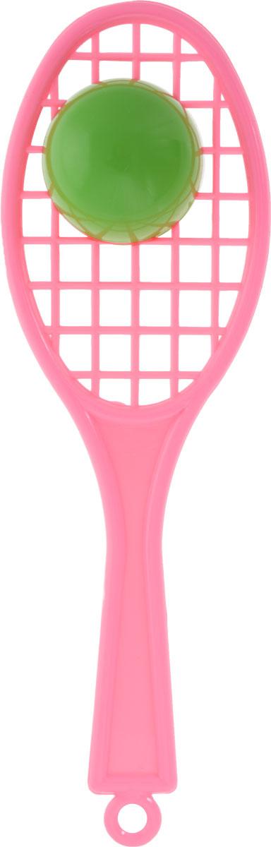 Аэлита Погремушка Ракетка цвет светло-розовый ракетка neottec 2000c fl