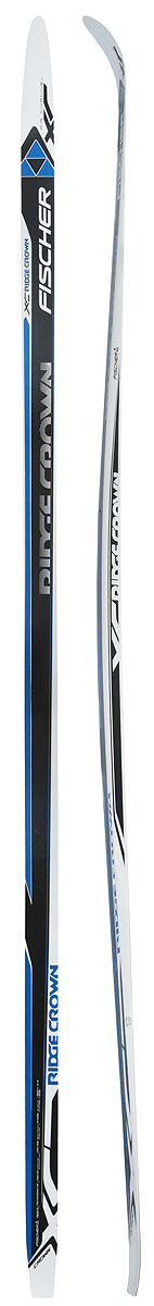 Беговые лыжи Fischer Ridge Crown, 190 см. N77517 лыжи беговые tisa sport step с креплением цвет белый серый черный рост 190 см