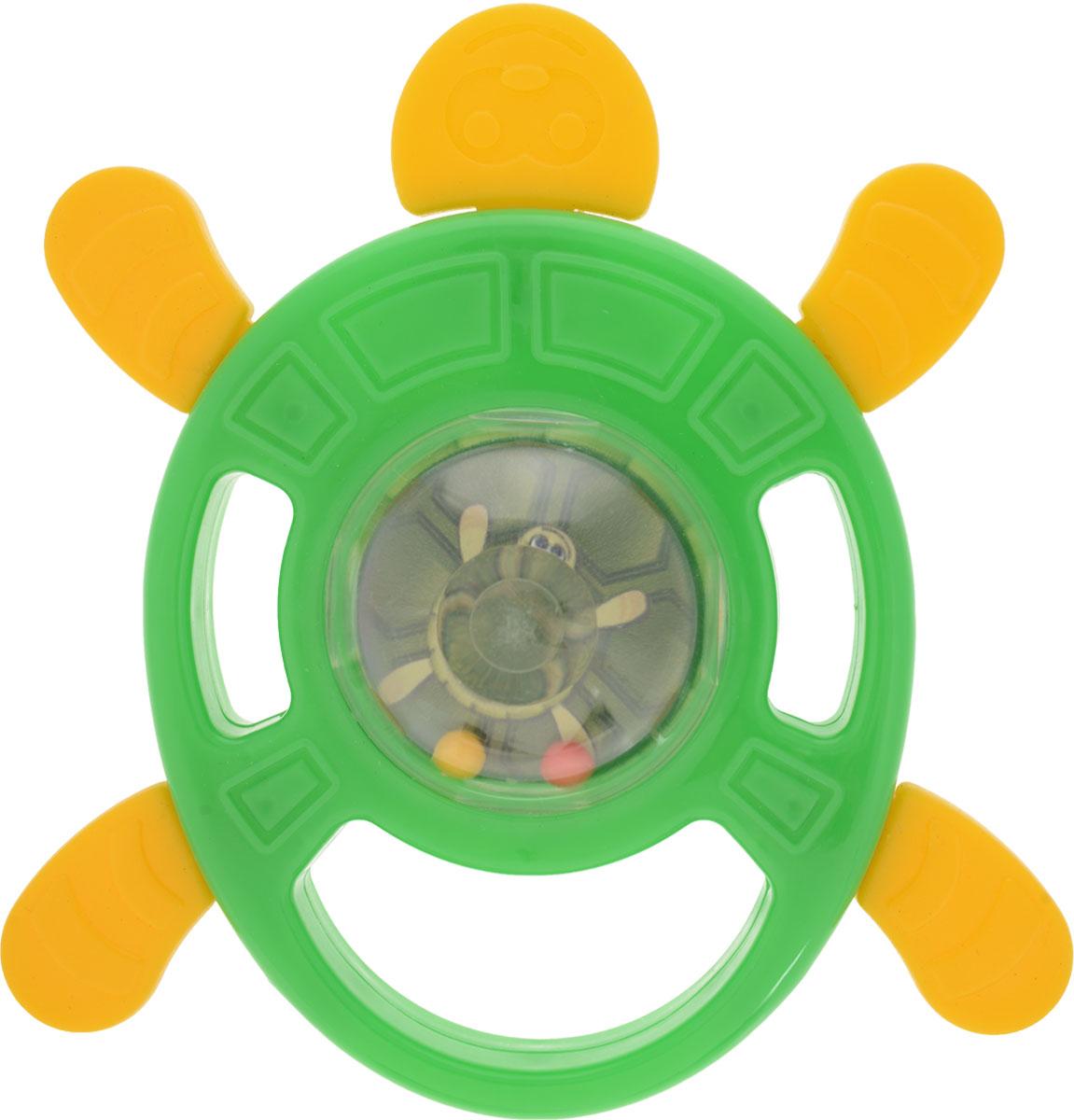 Zakazat.ru Пластмастер Погремушка-грызунок Черепаха цвет зеленый