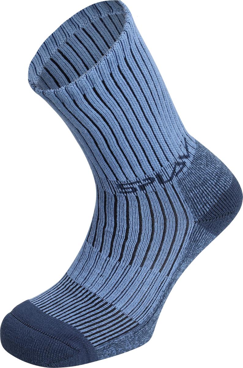Термоноски женские Сплав Arris, цвет: голубой. 1586400. Размер 35/381586400Великолепные треккинговые носки для походов, несомненно станут вашим надежным другом в повседневной жизни. Бамбуковое волокно обеспечит вашим ногам комфорт и защиту от микробов, а волокно Coolmax избавит ваши ноги от влаги и сохранит их в сухом тепле.Coolmax — полиэстеровое волокно фирмы DuPont, с четырехжильной нитью.Эффективно отводит влагу с поверхности тела.Cохраняет тело сухим даже во время больших физических нагрузок.свойства Bamboo:Волокна бамбука обладают антибактериальными терморегулирующими свойствами и эластичностью.