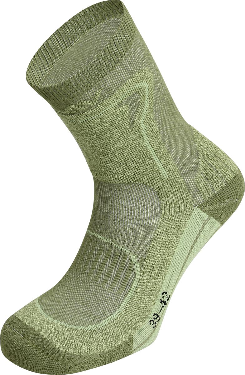 Термоноски женские Сплав Hike, цвет: оливковый. 1586500. Размер 35/381586500Треккинговые носки для активного использования. Волокно Coolmax избавит ваши ноги от влаги и сохранит их в сухом тепле.