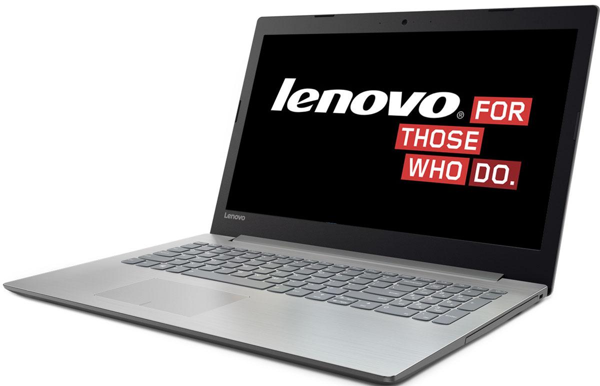 Lenovo IdeaPad 320-15IKB, Platinum Grey (80XL01GPRK)80XL01GPRKКаждая деталь Lenovo IdeaPad 320 создана для того, чтобы облегчить жизнь пользователя. Ноутбук с легкостью справляется с любыми задачами благодаря мощному процессору и дискретной видеокарте. На нем предустановлена ОС Windows 10.Процессор Intel Core i5-7200U и память DDR4 гарантируют высокое быстродействие и стабильную производительность. Запускай одновременно множество программ, с легкостью переключайся между вкладками веб-браузера и наслаждайся многозадачностью без помех.Ноутбук Lenovo IdeaPad 320 создан для решения самых разных задач. Он защищен специальным износостойким покрытием, устойчивым к бытовым повреждениям, а также прорезиненными деталями снизу, которые обеспечивают максимальную вентиляцию и продлевают срок службы изделия.В Lenovo IdeaPad 320 установленна мощная видеокарта NVIDIA GeForce 940MX. Дискретная видеокарта использует собственные вычислительные ресурсы, что повышает качество изображения, уменьшает количество разрывовкадров, увеличивает производительность в играх без ущерба для быстродействия и отклика системы. Наслаждайся качественным изображением в компьютерной игре или при создании и редактировании различного контента.Ноутбук Lenovo IdeaPad 320 имеет дисплей стандарта Full HD с антибликовым покрытием. Ты по достоинству оценишь четкость и реалистичность изображения при просмотре фильмов и веб-серфинге.Lenovo IdeaPad 320 оснащен динамиками, оптимизированными для технологии Dolby Audio, что обеспечивает кристально четкий звук с минимальными искажениями на любой громкости. Запусти потоковую передачу любимой музыки или общайся в видеочате с близкими и родными - аудиосистема передаст тончайшие нюансы звука.Точные характеристики зависят от модификации.Ноутбук сертифицирован EAC и имеет русифицированную клавиатуру и Руководство пользователя