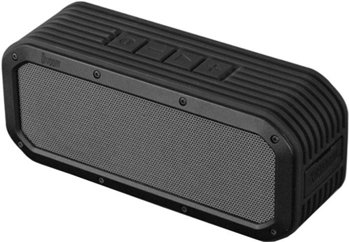 Divoom VoomBox-Outdoor, Black портативная акустическая системаVoombox-outdoor BlackПрочный портативный беспроводной стерео динамик Divoom VoomBox-Outdoor с высокой производительностью звука и функцией беспроводного соединения и стильным дизайном. Идеален для прослушивания музыки на улице! Акустика создана из водостойкого, ударо - прочного корпуса, который защищает все внутренние компоненты от брызг, ударов и даже пыли. Bluetooth соединение позволяет вам без использования проводов подключаться к потоку аудио из вашего iPhone, iPad или любых других смартфонов и планшетов.