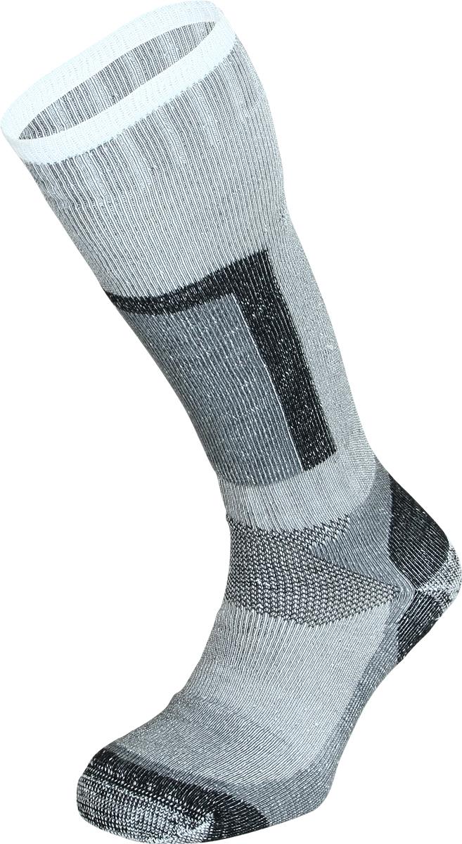 Термоноски мужские Сплав Peak, цвет: серый. 1584500. Размер 43/461584500Высокие носки с большим содержанием волокон Thermolite для очень холодных условий. Отлично подходят для горных лыж и сноубординга.Наличие усиленных зон обеспечивает повышенную износостойкость.Зона с содержанием эластичного материала не позволяет носку сползать и собираться гармошкой.Облегченная структура в области подъема стопы и подошвы, способствует ускоренному испарению избыточной влаги и тепла.Бесшовная технология создает повышенный комфорт, предотвращает натирание пальцев ног.