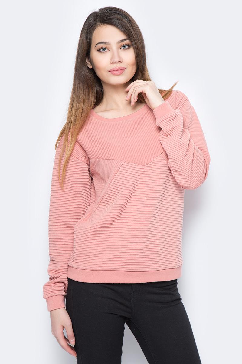 Свитшот женский Vero Moda, цвет: розовый. 10190181_Old Rose. Размер M (44)