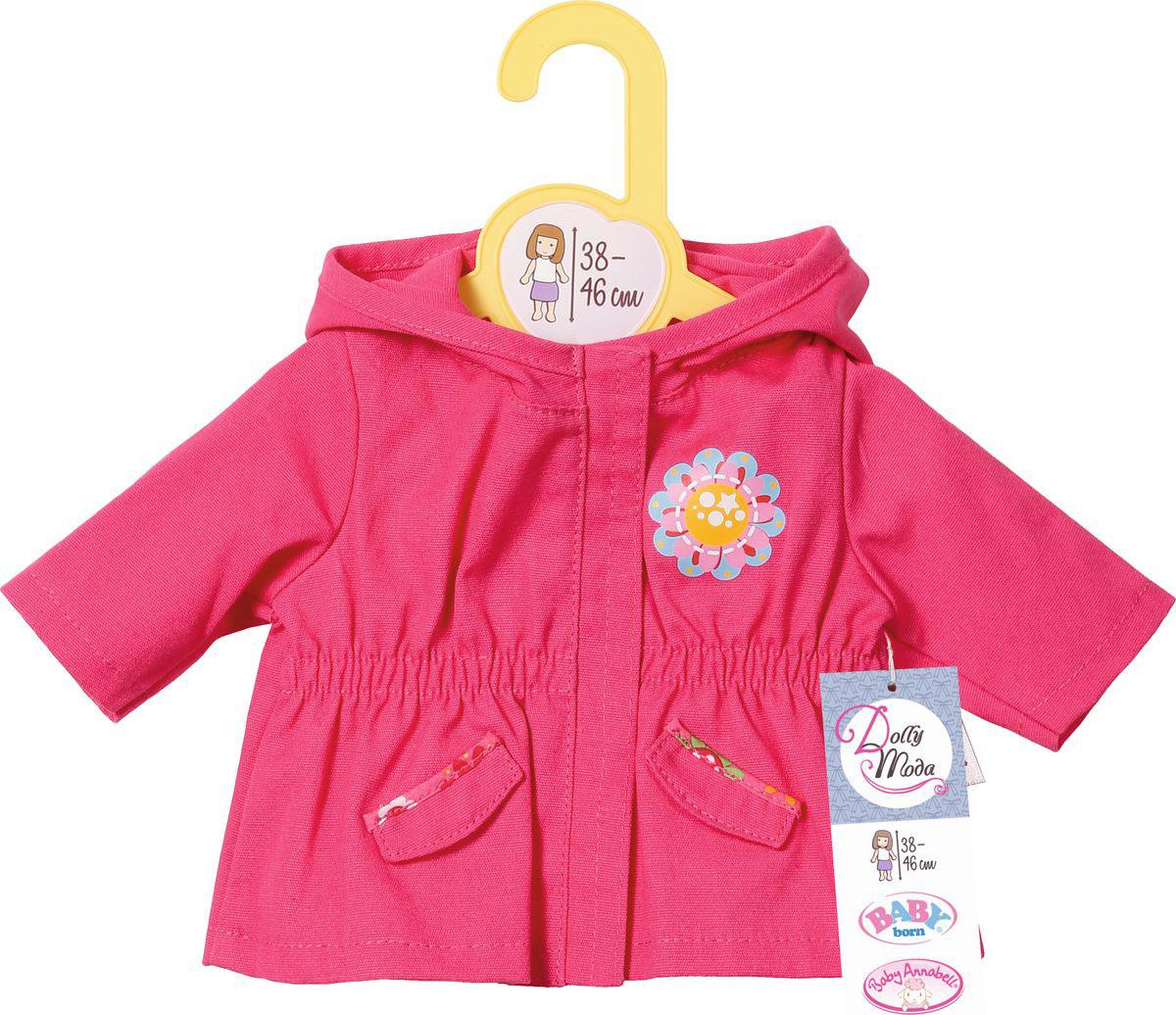 Zapf Creation Одежда для кукол Курточка цвет розовый - Куклы и аксессуары
