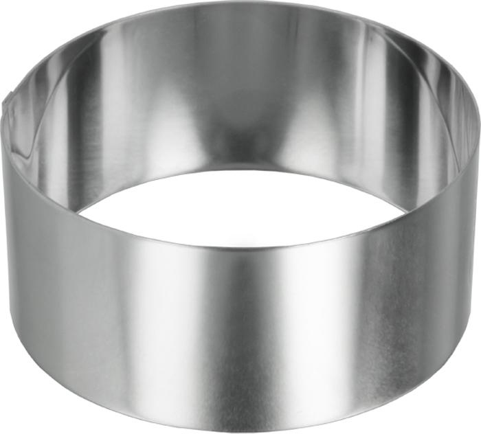 Кольцо кулинарное Metaltex, диаметр 10 см20.45.34Кольцо кулинарное Metaltex для выпечки будет отличным выбором для всех любителей бисквитов и кексов, а также заливных блюд и пудингов. С такой формой вы всегда сможете порадовать своих близких оригинальной выпечкой. Формочка выполнена из коррозийно-стойкой стали.