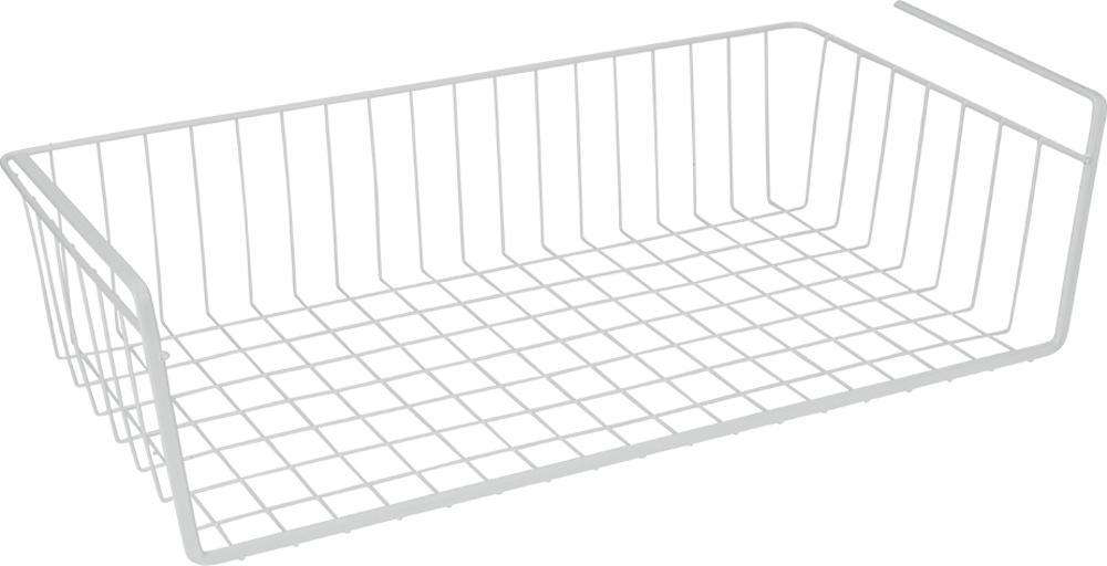 Полка кухонная Metaltex Babatex, подвесная, 50 х 26 х 14 смLE 530Подвесная полка Metaltex Babatex, изготовленная из стали с полимерным покрытием, сэкономит место на вашей кухне или в ванной. Современный дизайн делает ее не только практичным, но и стильным домашним аксессуаром. Полка надежно крепится к поверхности при помощи двух держателей. Такая полка пригодится для хранения различных кухонных или других принадлежностей, которые всегда будут под рукой, и увеличит полезную площадь для хранения различных предметов.