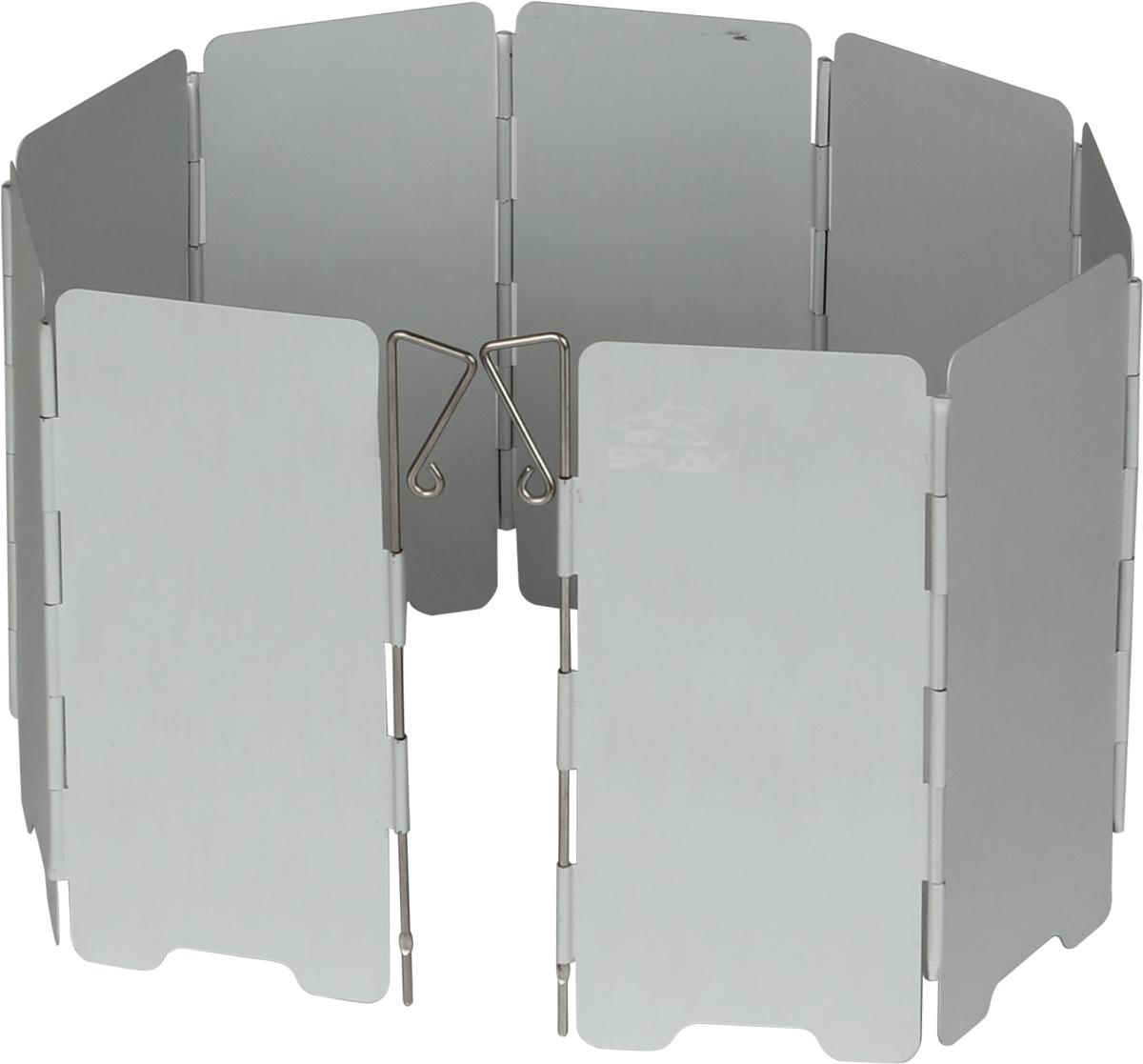 Компактный защитный экран от ветраСохраняет тепло пламениСпособствует экономии топливаУскоряет время приготовления пищи 9 секций605?140 ммВес: 115 г