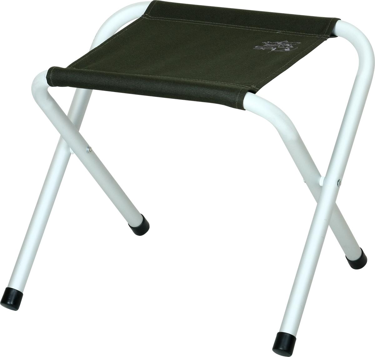 Табурет складной  Сплав , кемпинговый, цвет: темно-зеленый - Складная и надувная мебель