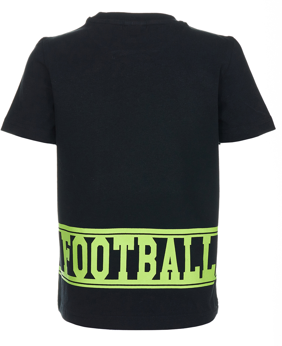 Футболка для футбола для мальчика Button Blue Football, цвет:  черный.  118BBBC12100800.  Размер 158 Button Blue