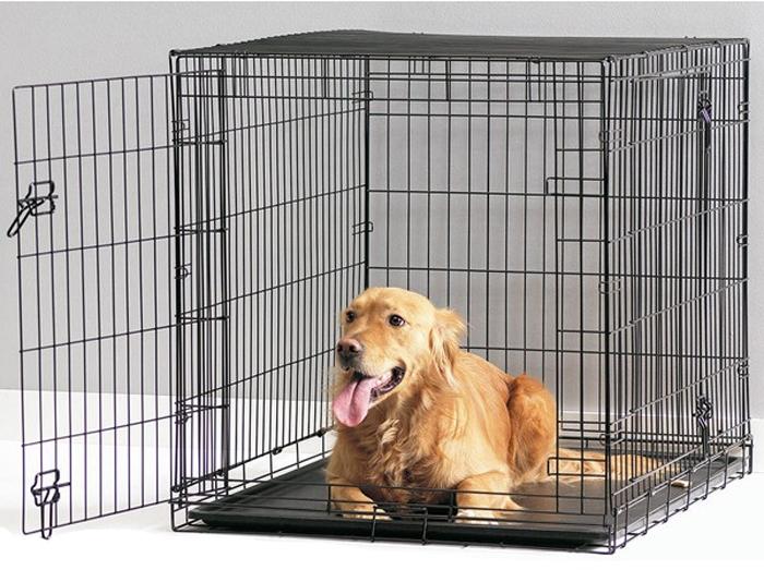 Переноска-клетка для животных Savic Cottage, цвет: черный, 91 х 57 х 62 см3313-0011Переноска-клетка металлическая. Черная