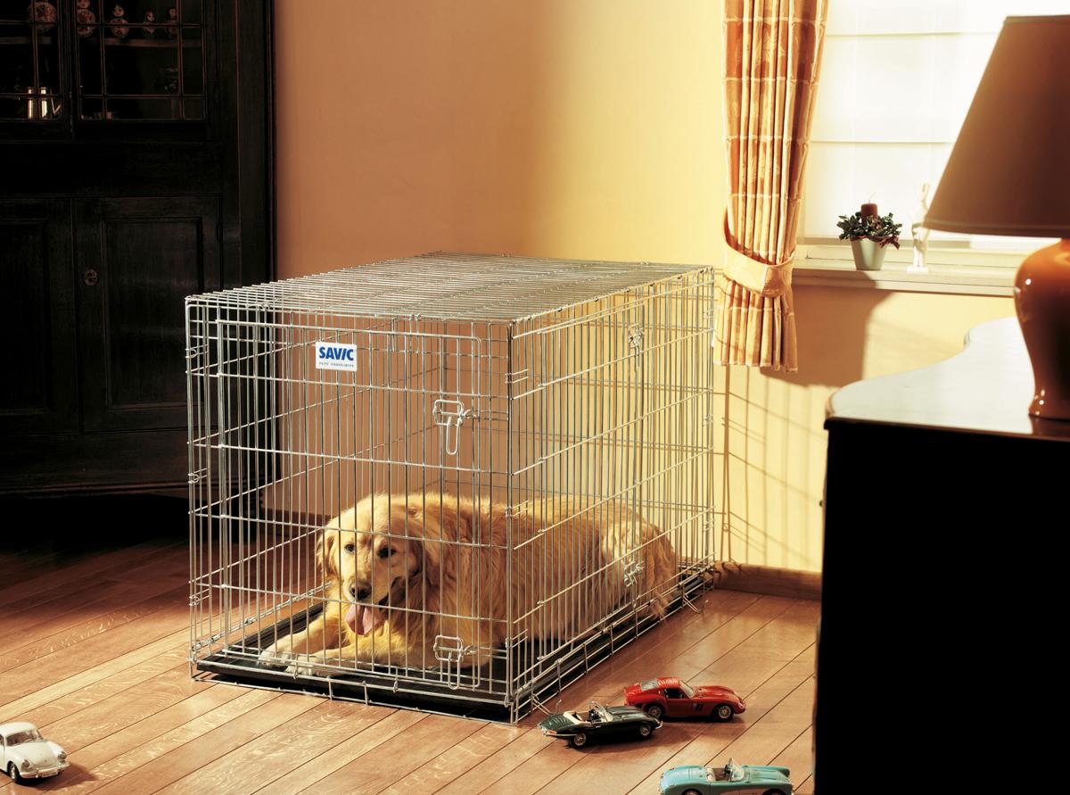 Переноска-клетка для животных Savic  Residence , цвет: серый, 118 х 76 х 88 см - Переноски, товары для транспортировки