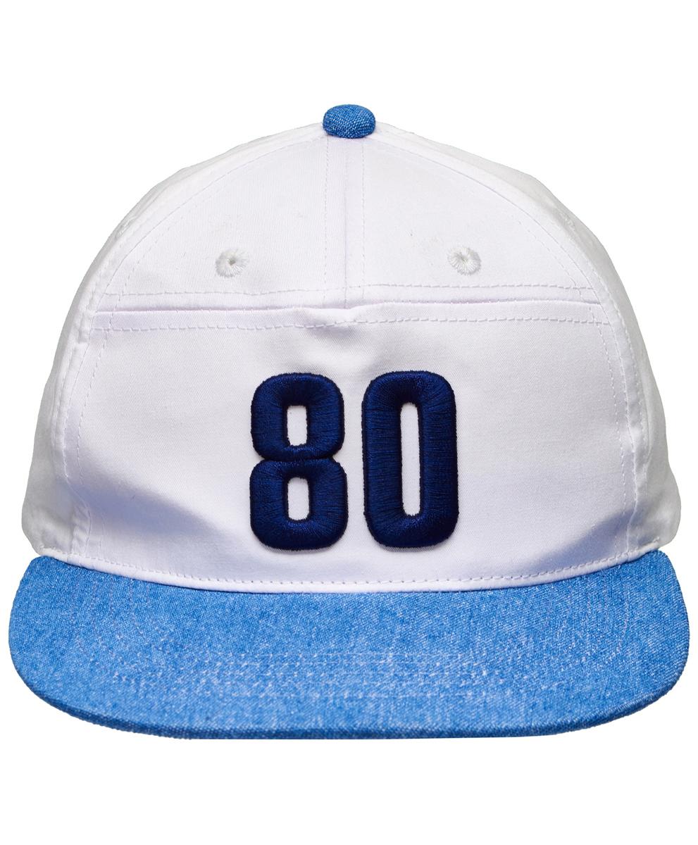 Бейсболка для мальчика Button Blue, цвет: белый, голубой. 118BBBX7101D200. Размер 54 бейсболки nike бейсболка nsw true blue lbl kashi