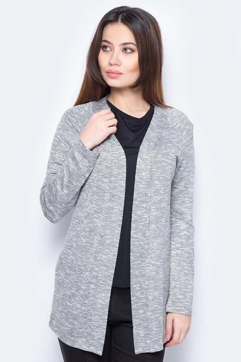 Кардиган женский Sela, цвет: серый. CNk-113/940-8111. Размер XS (42) цена 2017