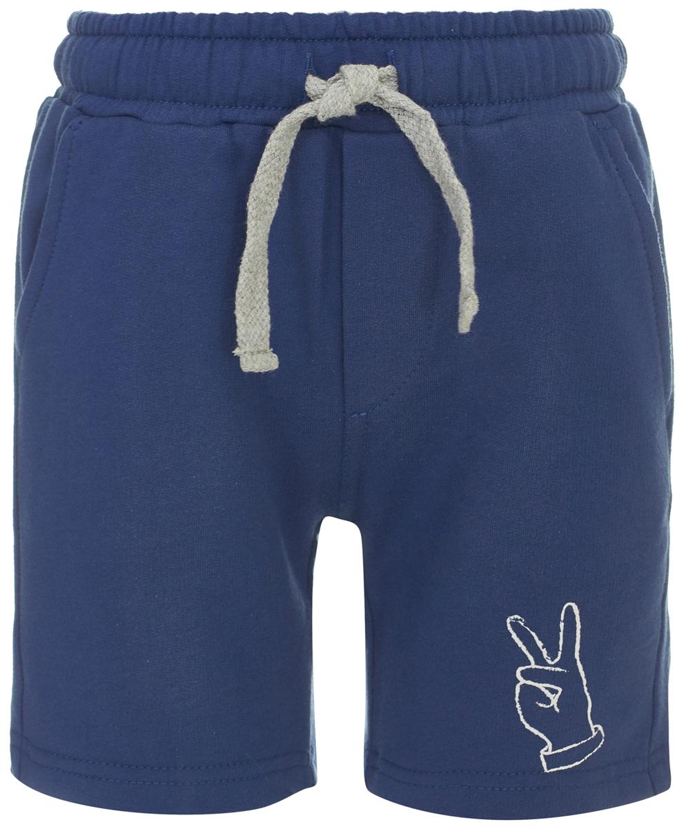 Шорты для мальчика Button Blue, цвет: темно-синий. 118BBBC54031000. Размер 134118BBBC54031000Удобные шорты для ребенка - незаменимая часть гардероба. Если вы хотите дешево купить шорты для мальчика, сочетающие в дизайне повседневный и спортивный стиль, лучшим выбором будет данная модель от Button Blue. Длинные свободные шорты на резинке не стесняют движений и позволяют заниматься спортом и активным отдыхом, а Casual стиль делает их подходящими и для повседневного ношения. Модель изготовлена из хлопчатобумажной ткани, мягкой и удивительно комфортной.