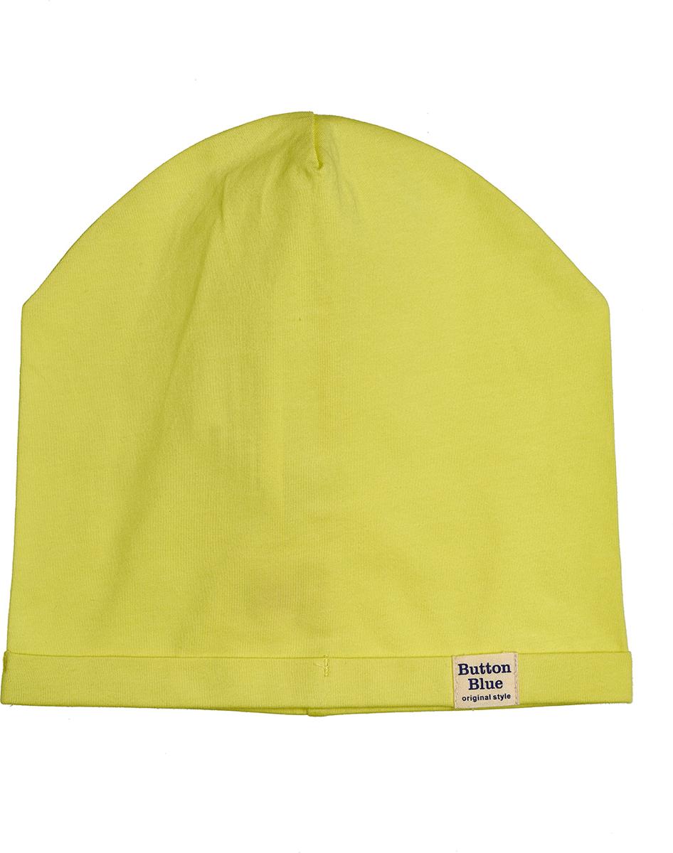 Шапка для мальчика Button Blue, цвет: салатовый. 118BBBX73012700. Размер 54118BBBX73012700Модная шапка из трикотажа - то что нужно, чтобы пополнить весенний гардероб ребенка. Если вы хотите недорого приобрести качественную и практичную вещь, можно купить шапку для мальчика от Button Blue, модель, отвечающую всем требованиям качества и стиля. Цвет шапки сочетается с различными цветовыми палитрами, модными в этом сезоне.