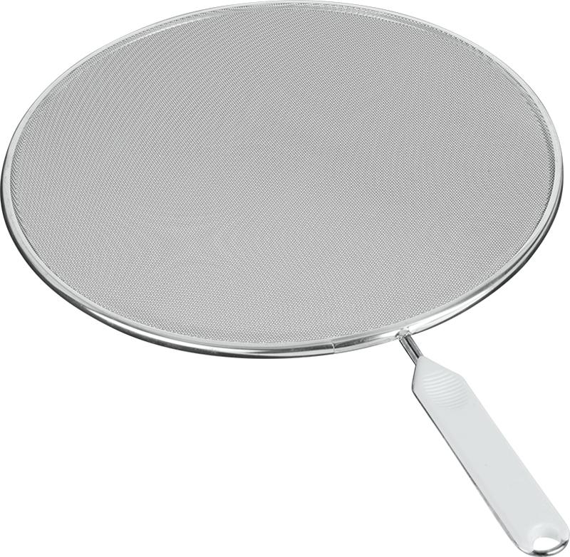 """Охранное сито """"Metaltex"""" изготовлено из стали. Сито предназначено для охраны плиты и окружающей обстановки от загрязнения при сильной жарке - положите сито на сковороду и используйте как крышку. Также можно использовать как сито для процеживания, либо как подставку под горячее."""