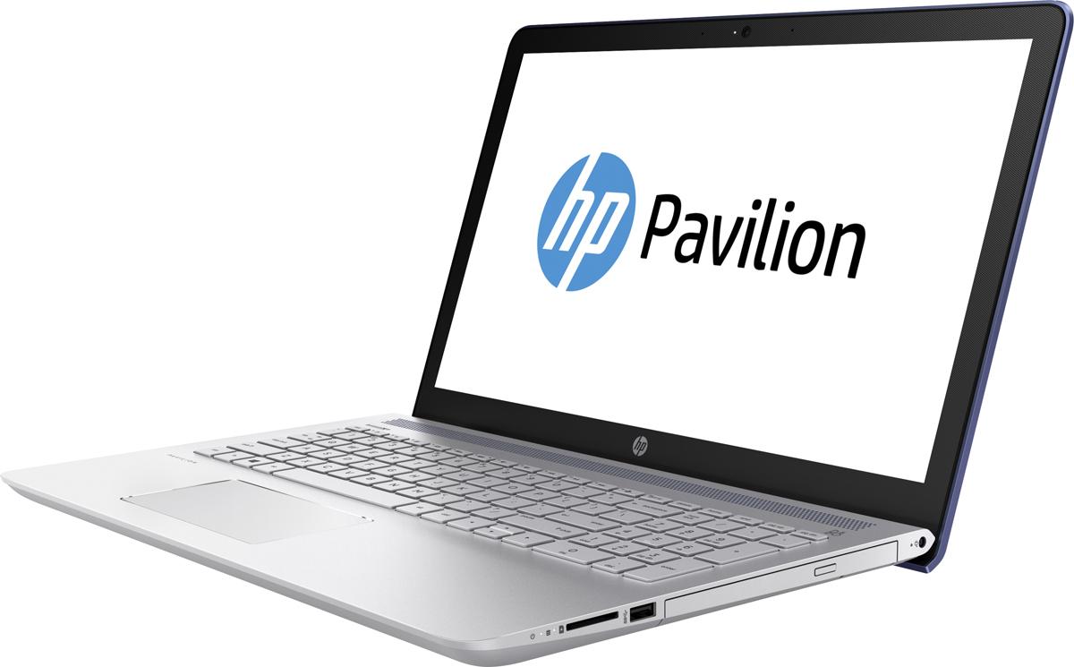 HP Pavilion 15-cd019ur, Opulent Blue (2CQ95EA)489843Ноутбук HP Pavilion 15-cd019ur сочетает все преимущества настольного ПК в компактном корпусе. Потрясающий звук и четкий Full HD дисплей - это лишь часть тех преимуществ, которые оставляют незабываемые впечатления от использования этого компьютера.Используйте по максимуму весь функционал Windows на кристально чистом экране с качеством Full HD, оптимизированном для Windows 10. Четкое изображение, с которым вы не упустите ни одну деталь - даже при плохом освещении. Наслаждайтесь живым общением благодаря веб-камере HP Wide Vision Full HD.С помощью производительного процессора от AMD можно выполнять любые задачи. Создавайте великолепные визуальные материалы, не замедляя работу ноутбука, благодаря дискретной графической карте AMD Radeon 530. Благодаря модулю беспроводной связи с сертификацией Wi-Fi общаться с коллегами по Интернету и электронной почте можно не только в офисе, но и в любом другом месте с точкой доступа.Встроенные динамики обеспечивают превосходное качество звучания. С помощью разъема HDMI можно подключить ноутбук к большому HD-монитору, что особенно удобно для показа презентаций.Точные характеристики зависят от модификации.Ноутбук сертифицирован EAC и имеет русифицированную клавиатуру и Руководство пользователя