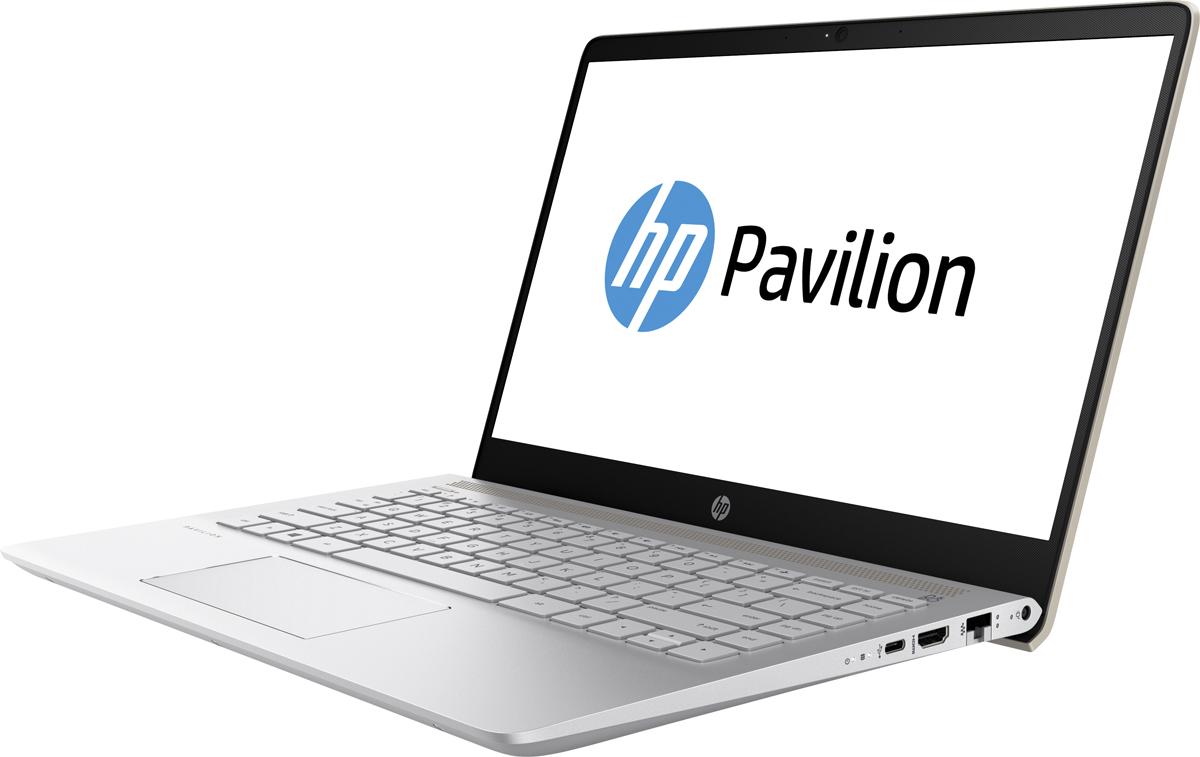 HP Pavilion 14-bf029ur, Silk Gold (2YL01EA)518900Делайте то, что нравится, и делитесь своими достижениями с помощью великолепных возможностей ноутбука HP Pavilion 14. Благодаря современному продуманному дизайну обновленный ноутбук Pavilion представляет собой превосходное сочетание производительности и стиля.Тонкие рамки позволяют вместить экран диагональю 35,6 см (14) в корпус диагональю 33,8 см (13,3) для удобного размещения где угодно.Благодаря автономной работе в течение 10 часов и зарядке аккумулятора на 90% за 90 минут вам больше не нужно беспокоиться об экономии. Выполняйте задачи любой сложности и будьте уверены, что у вас останется достаточно заряда на любимые развлечения.Ноутбук подарит невероятно насыщенное и реалистичное звучание благодаря двум динамикам HP, технологии HP Audio Boost и профессиональной аудиосистеме, настроенной специалистами B&O PLAY. Живите в ритме любимой музыки.Процессор Intel Core i5 7-го поколения. Добейтесь высокой производительности и скорости работы системы и ее быстрой загрузки для исключительного удобства использования ПК. Благодаря поддержке разрешения до 4K можно не только смотреть потоковые трансляции в лучшем качестве, но и создавать свои.Память DDR4 - это будущее ОЗУ. Она отличается большей эффективностью, надежностью и скоростью работы. Расширение полосы пропускания способствует увеличению производительности всех процессов для эффективной работы в многозадачном режиме и высокой скорости обработки компьютерных игр.Точные характеристики зависят от модификации.Ноутбук сертифицирован EAC и имеет русифицированную клавиатуру и Руководство пользователя