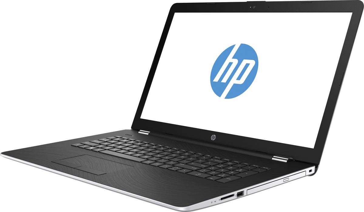 HP 17-bs101ur, Natural Silver (2PN23EA)513931Стильный ноутбук HP 17-bs101ur, помимо выполнения повседневных задач, поможет вам оставаться на связи весь день.Благодаря неизменно высокой производительности и длительному времени работы от аккумулятора вы можете с комфортом пользоваться Интернетом, вести потоковое вещание и оставаться на связи с нужными людьми.Процессор Intel Core i5 8-го поколения обеспечивает неизменно высокую производительность, которая необходима для работы и развлечений.Надежность и долговечность ноутбука позволят легко выполнять все необходимые задачи.Превосходно спроектированный как изнутри, так и снаружи, этот ноутбук HP с экраном диагональю 43,9 см (17,3 дюйма) идеально подойдет для вашего образа жизни.Развлекайтесь и оставайтесь на связи с друзьями и семьей благодаря превосходному дисплею Full HD. Кроме того, с этим ноутбуком ваши любимые музыка, фильмы и фотографии будут всегда с вами.Память DDR4 - это будущее ОЗУ. Она отличается большей эффективностью, надежностью и скоростью работы. Расширение полосы пропускания способствует увеличению производительности всех процессов для эффективной работы в многозадачном режиме и высокой скорости обработки компьютерных игр.Точные характеристики зависят от модификации.Ноутбук сертифицирован EAC и имеет русифицированную клавиатуру и Руководство пользователя