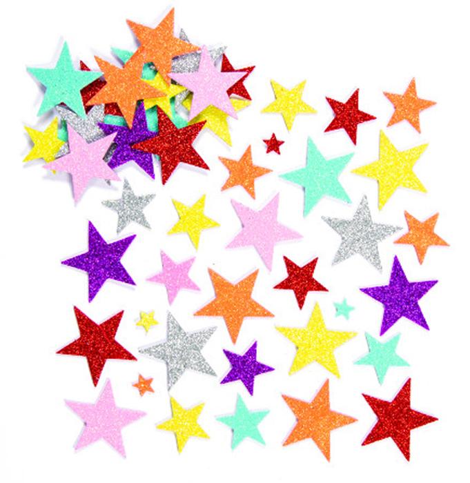 Baker Ross Набор наклеек Сияющие звезды