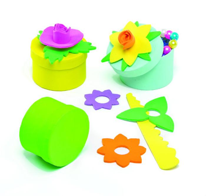 Baker Ross Набор для изготовления подарочных коробочек Цветы набор шкатулок для рукоделия bestex 3 шт zw001250