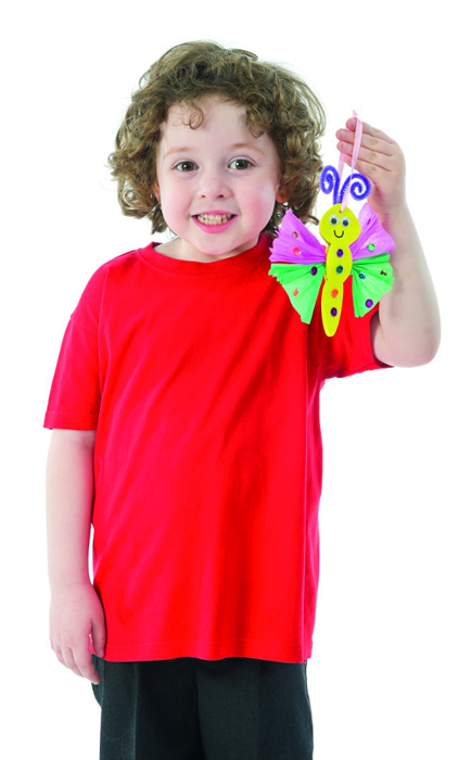 Baker Ross Набор для изготовлении игрушек Бабочки baker ross набор для изготовления флюгера нарцисс