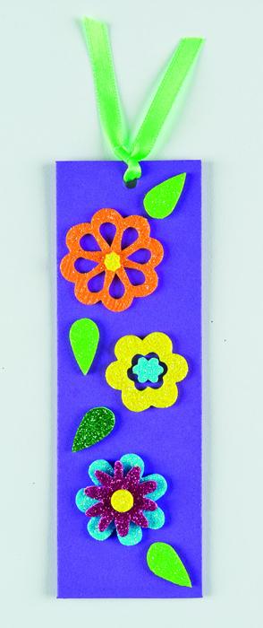Baker Ross Набор наклеек Сверкающие цветы