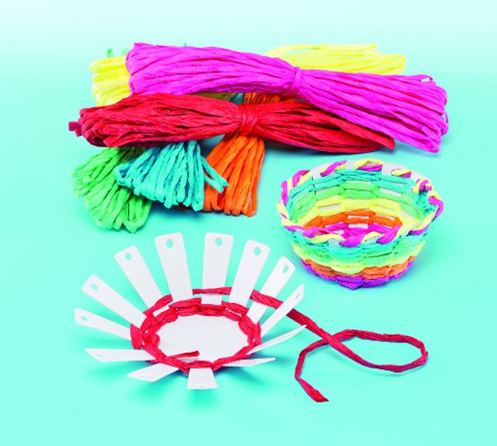 Baker Ross Набор для изготовления игрушек Сплети корзиночки baker ross набор для изготовления магнитов рыбки