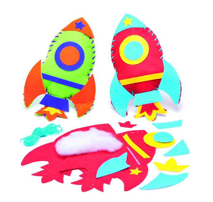 Baker Ross Набор для изготовления мягких игрушек Ракеты