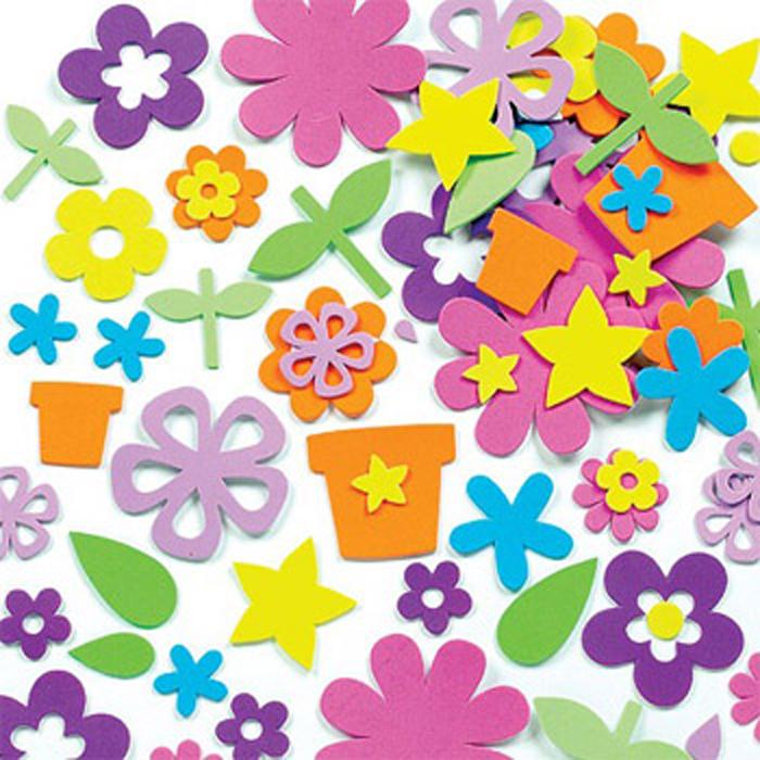 Baker Ross Набор наклеек Сад цветов