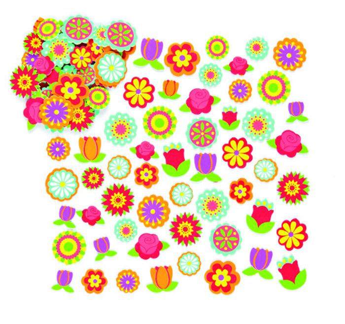 Baker Ross Набор наклеек Цветы
