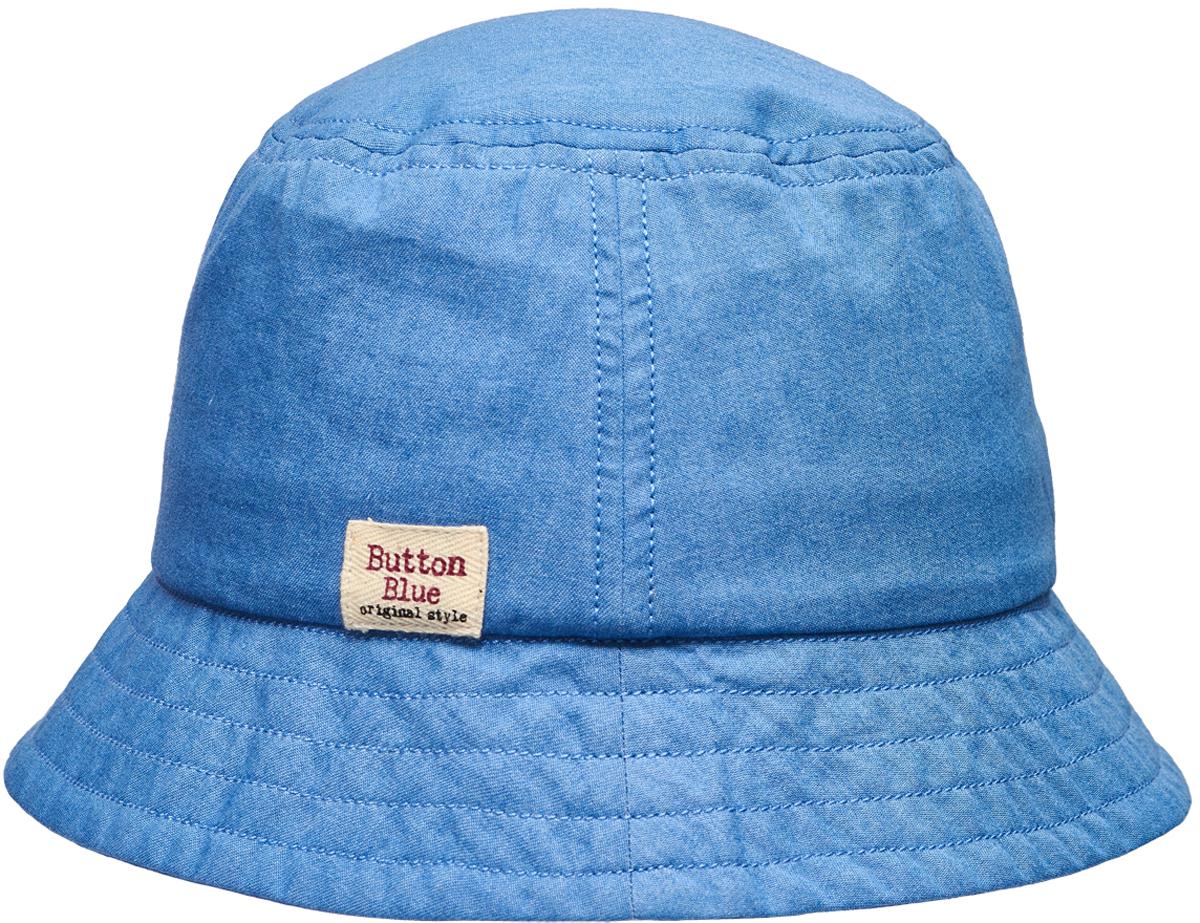 Панама для девочки Button Blue, цвет: голубой. 118BBGX7001D200. Размер 52118BBGX7001D200Для дополнительной защиты от солнца можно купить девочке детскую летнюю панаму от Button Blue. Она защитит голову от перегрева, лицо от воздействия прямых солнечных лучей. Ну а отличный дизайн обеспечит не только комфорт, но и привлекательность панамы для своей владелицы.Панама прекрасно подойдет к любому наряду, подчеркнет его легкость и добавит в образ свежую нотку.