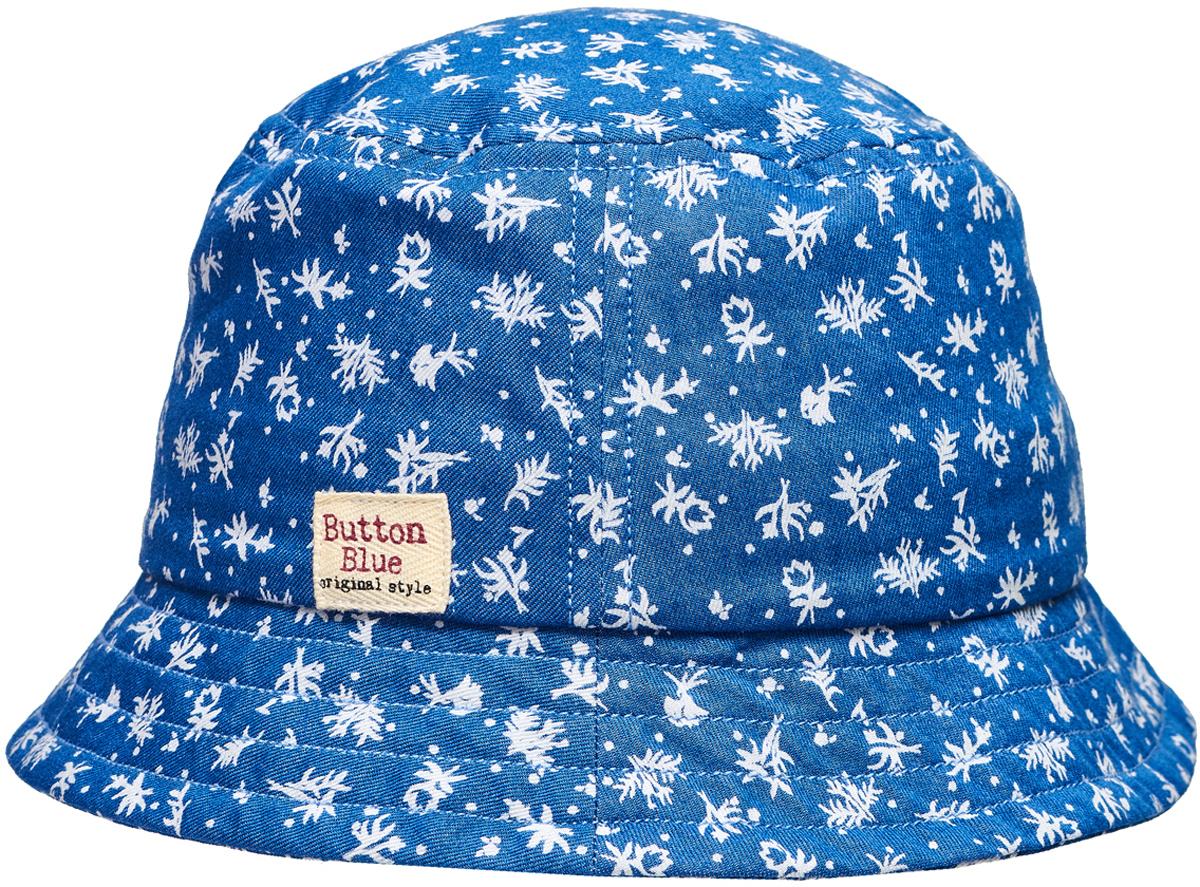 Панама для девочки Button Blue, цвет: синий. 118BBGX7001D114. Размер 52118BBGX7001D114Для дополнительной защиты от солнца можно купить девочке детскую летнюю панаму от Button Blue. Она защитит голову от перегрева, лицо от воздействия прямых солнечных лучей. Ну а отличный дизайн обеспечит не только комфорт, но и привлекательность панамы для своей владелицы.Панама прекрасно подойдет к любому наряду, подчеркнет его легкость и добавит в образ свежую нотку.