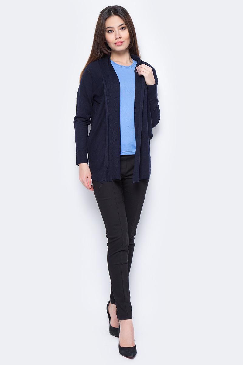 Жакет женский Sela, цвет: темно-синий. CN-114/1119-8111. Размер XS (42) жакет женский sela цвет темно синий jtk 116 448 6171 размер s 44