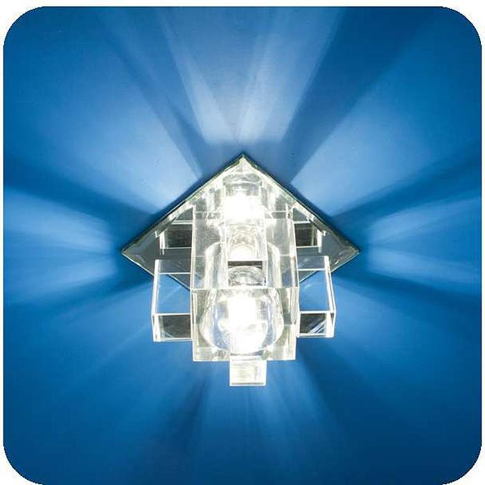 Светильник встраиваемый ITALMAC Bohemia 220 11 70, G9, цвет: прозрачный. IT8322IT8322Встраиваемые светильники светодиодные (точечные) позволяют освещать труднодоступные зоны, создают акценты на определенные элементы, что помогает дизайнеру решать различные задачи в оформлении интерьера. Эти широкие возможности точечных элементов освещения позволили им завоевать такую огромную популярность.